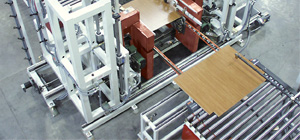 High Speed Cabinet Base & Wall End Panel Line by Creative Automation