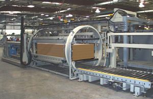 In-line barrel turnover