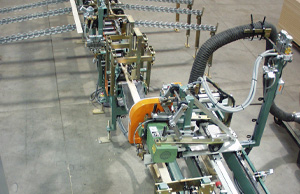 Creative Automation Flying Cutoff Saw and Cross Transfer