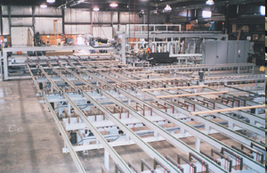 Automated Lumber Feeder Stacker by Creative Automation