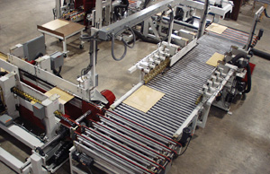 Overhead view of a Creative Automation manufacturing cell