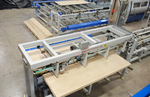 Moulder and Profile Wrapper Automation