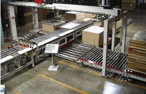 Vacuum panel feeder and distribution