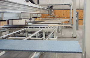 Countertop pick and place system being tested in our facility.