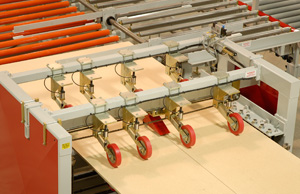 Creative Automation Splitting Saw during testing